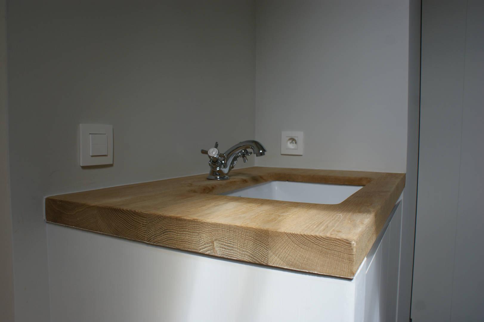 Massief Parket Badkamer : Badkamers galle houtbewerking
